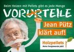 Jean P�tz zeigt Vorteile von Pelletheizungen
