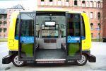 Emissionsfrei und elektrisch: Bundesumweltministerin Schulze fördert Tests mit selbst-fahrenden E-Shuttles in Berlin