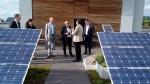 Klimafreundliche Wärmelösungen mit Solarstrom und Holzpellets - vorgestellt am Beispiel des Hotels Victoria in Freiburg