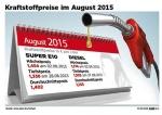Preise f�r Benzin und Diesel im August gesunken