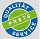 Qualit�t, Preis, Service