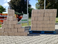 Eichenholzbriketts 1 Palette / 720 kg