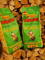 Premium Holzkohle Buche 5 kg