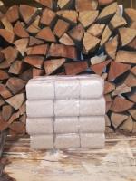 RUF Hartholzbriketts Eiche, 12er Paket foliert, 10 kg