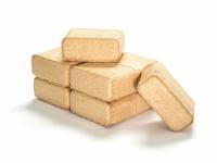 Eichenholzbriketts 1 Paket foliert, 10 kg