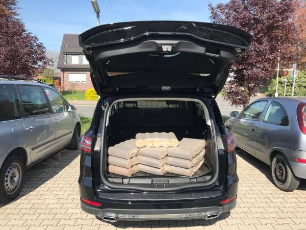 Kofferraumangebot 10 x Brikett rund Ø 90 mm 10 kg