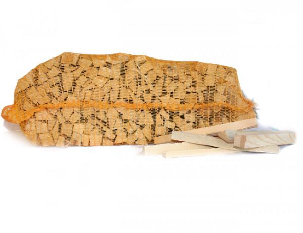 Anfeuerholz 5 dm³ Holzvolumen pro Sack