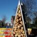 Kaminholzregal Baum 180 cm