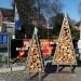 Kaminholzregal Baum 230 cm