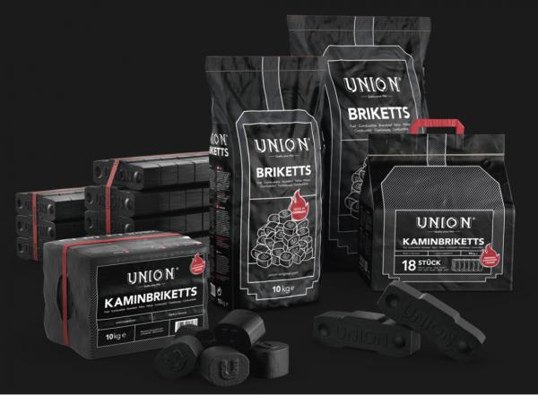 Union Kamin-& Ofenbrikett / Palette