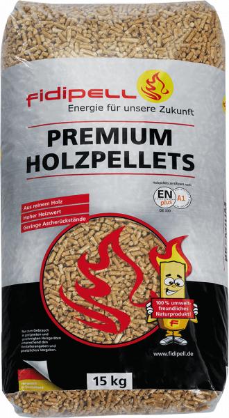 *fidipell* Premium-Holzpellets, EN plus A1