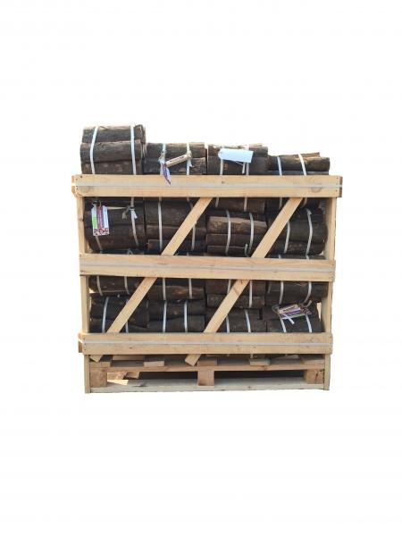 50% Rabatt / Kaminholz in Rolls trocken / Palette