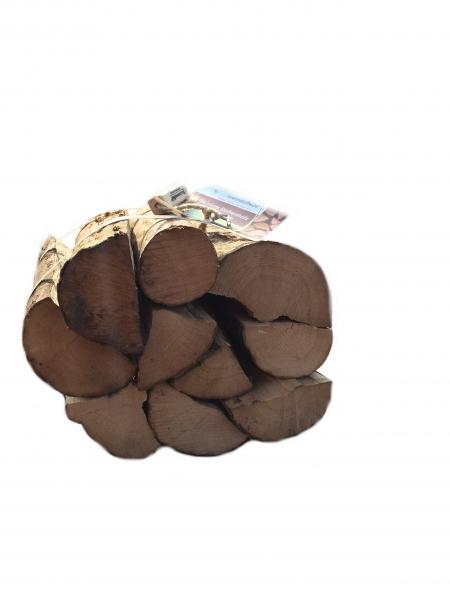Esche Kaminholz in Rolls trocken