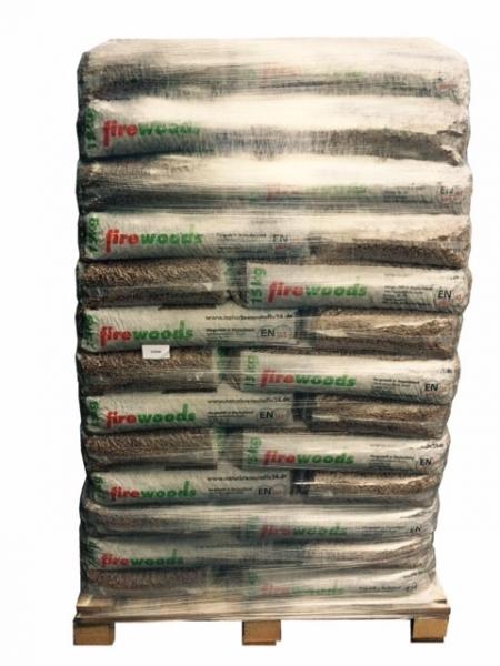 *firewoods* Premium-Holzpellets, EN plus A1, 65 x 15kg Sack