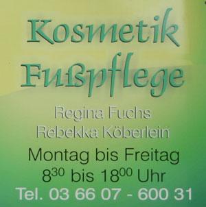 Kosmetik ud Fußpflege Regina Fuchs