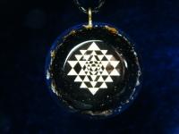 Sri Yantra Energy Amulett