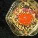 Sugilith Cone mit Bergkristallen