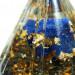 Sodalith Energiekegel mit Gold