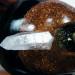 Orgonit Kupfer-Kristallschädel
