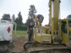 Baustellenbetankung