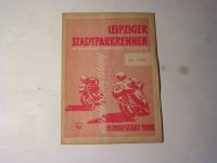 Rennprogramm / Leipziger - Stadtpark-Rennen - 1958