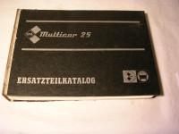 Multicar 25 / EL. / 1987