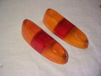 Rücklichtgläser orange-rot-orange