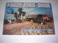 Poster - Paris-Dakar Liaz/Tatra
