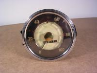 Goldpunkt-Tachometer bis 100 kmh