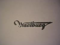 Schriftzug Wartburg / Heck / 353 1. Serie