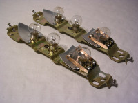 Lampenträger für Schiffchen-Rücklichter W-311/313