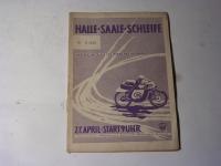 Programmheft - Halle - Saale - Schleife / 1958