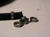 Schelle / 9mm Benzinschlauch