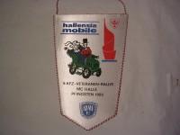Wimpel KFZ Veteranen -Rallye 1982