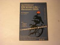 Rennprogramm / Schleiz / 1966