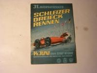 Rennprogramm / Schleiz -1964