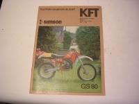 KFT Heft 8 / 1987 / Vorstellung Simson GS80