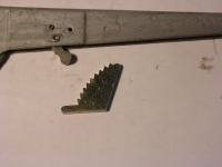 Zahnsegment Handbremse / Rahmen 311/312