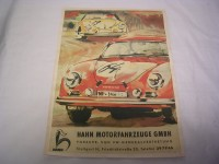 Plakat - Porsche-Vertretung