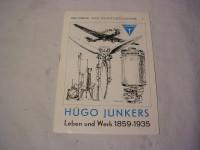 Hugo Junkers Leben u. Werk