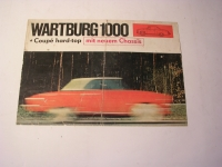 Prospekt Wartburg 300-HT