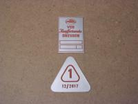 Plaketten für A-Säule / KWD