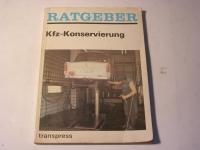 Ratgeber - KFZ - Konservierung