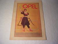 Plakat - Opel die Siegerin