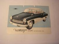 Prospekt Wartburg 311 Coupe / 1962
