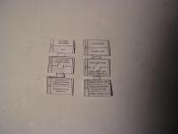 Beschriftung Sicherungsdosen Li. / Re. 311/312/313