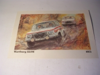 Poster Rallye-Wartburg 353