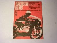 Rennprogramm / Sachsenring / 1971