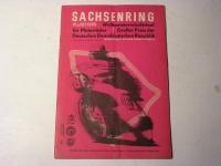 Rennprogramm / Sachsenring / 1965