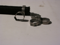 Schelle / 7 mm Benzinschlauch